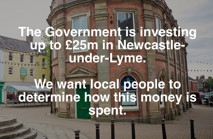 Up to £25m for the town